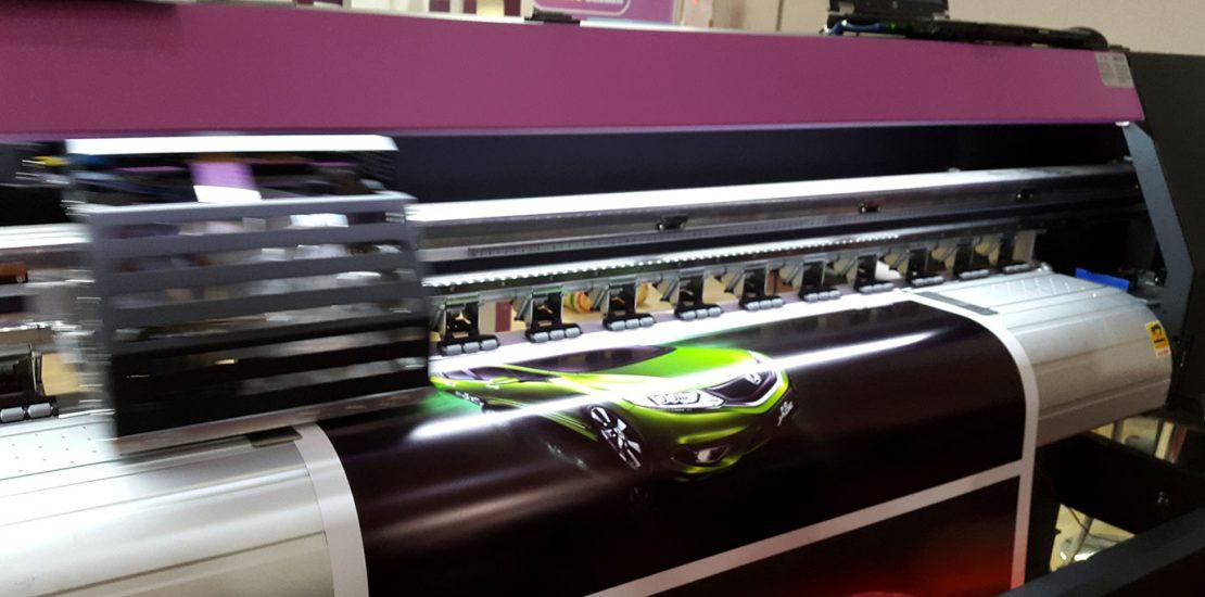 دستگاه چاپ اکوسالونت و دستگاه چاپ بنر